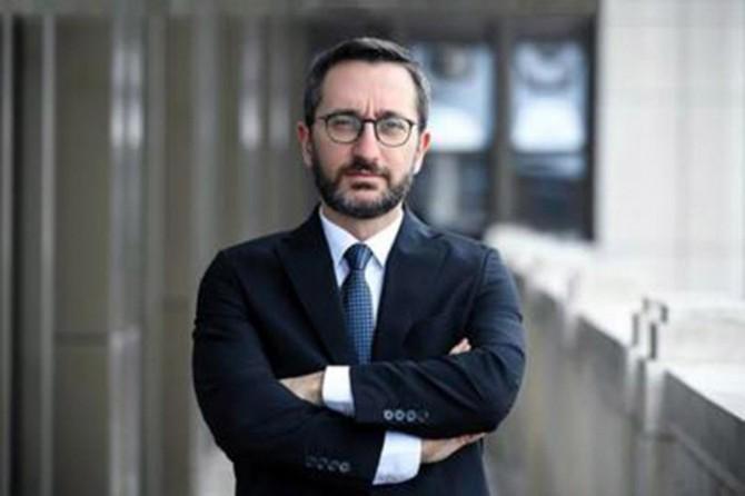 İletişim Başkanı Altun: Kudüs'ü birilerine vermek üçüncü tarafın vazifesi değildir