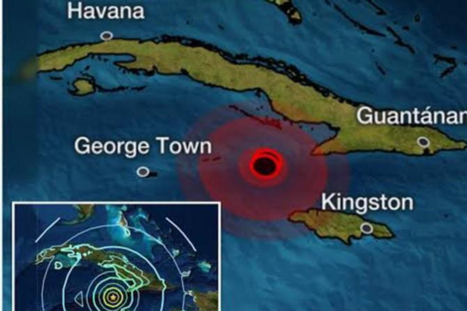 Karayiplerde 7,3 şiddetinde deprem meydana geldi