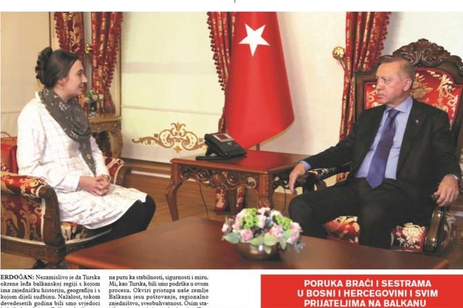 Cumhurbaşkanı Erdoğan Stav Dergisine konuştu
