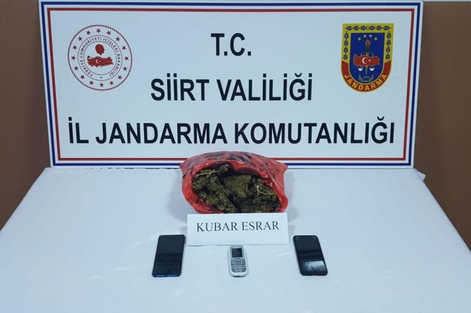 Siirt'te uyuşturucu operasyonu
