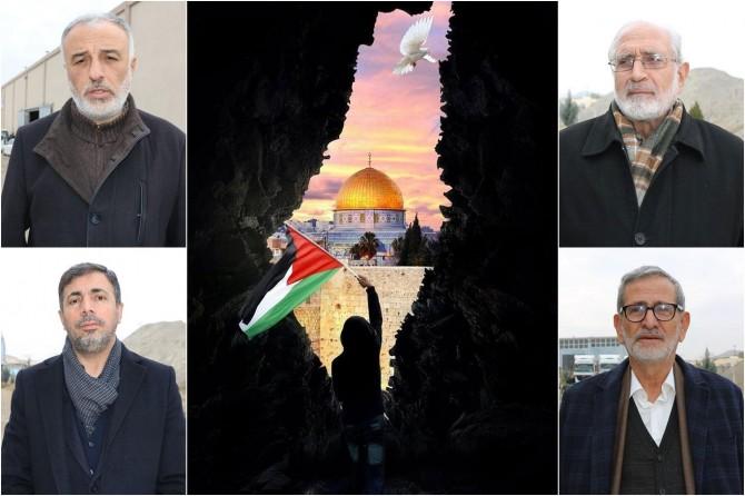 Şanlıurfalı STK temsilcileri: Müslümanlar Kudüs ile özgürdür