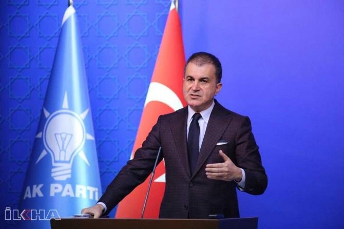 """AK Parti Sözcüsü Çelik: """"Barış planı ölü doğmuştur"""""""