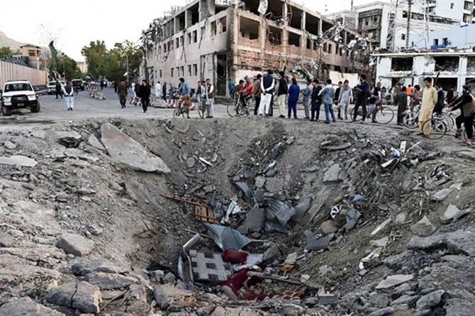 İşgalci ABD Afganistan'da sivilleri bombaladı: En az 12 kişi hayatını kaybetti