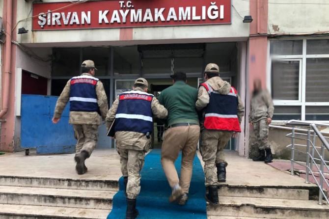 """Siirt'te """"Kasten öldürme"""" suçundan aranan şahıs yakalandı"""