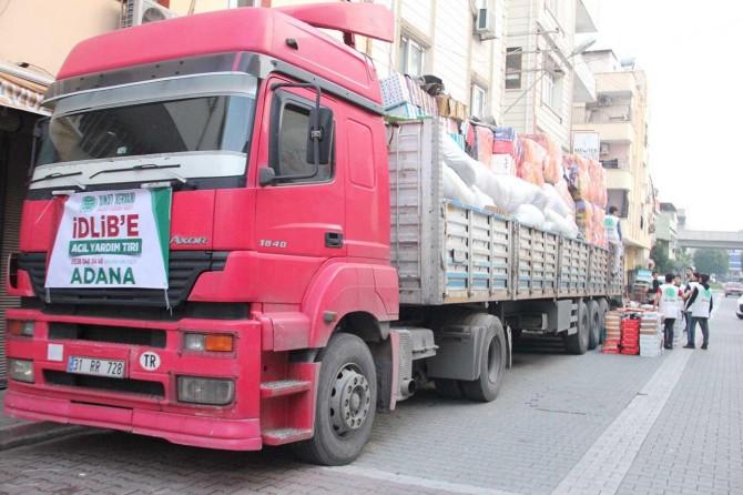 Adana Umut Kervanı da İdlib için seferber oldu