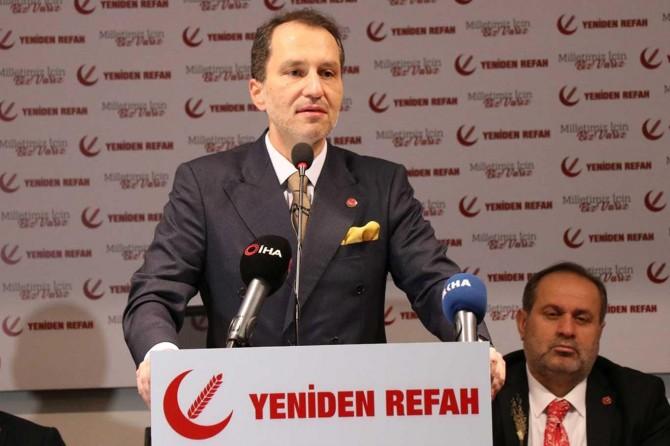 """Fatih Erbakan: """"İşgalci siyonist israil laftan anlamaz güçten anlar"""""""
