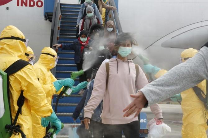 Endonezya, koronavirüs nedeni ile 238 vatandaşını Çin'den tahliye etti