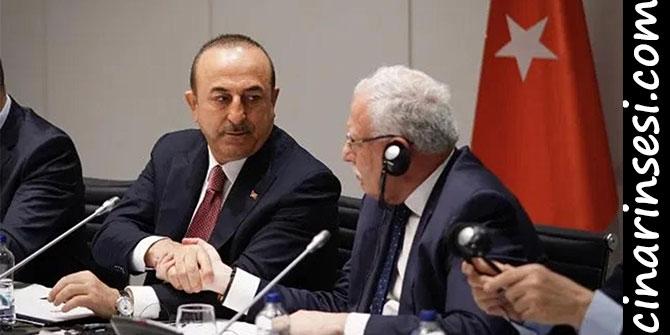 Dışişleri Bakanı Çavuşoğlu Filistin Dışişleri Bakanı Riyad el-Maliki ile görüştü