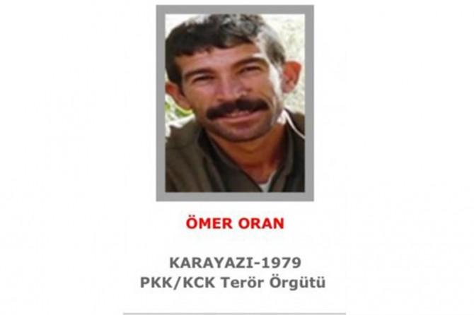 Erzurum'da gri listedeki PKK'li öldürüldü