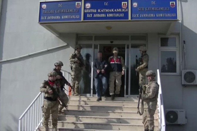 Lice'de PKK'lilere ilaç temin eden bir kişi tutuklandı