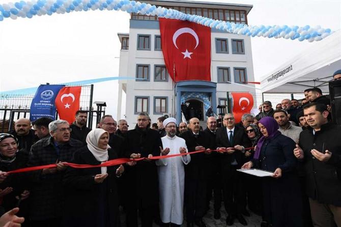 """Kahramanmaraş'ta """"Pazarcık Yatılı Hafızlık Erkek Kur'an Kursu dualarla"""" açıldı"""