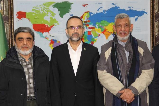 İhvan Şura Meclisi üyelerinden HÜDA PAR Genel Başkanı Sağlam'a ziyaret