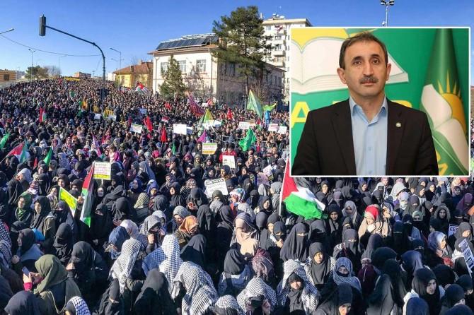 """HÜDA PAR Sözcüsü Demir: """"Kudüs sevdası siyasi emellere alet edilmemeli"""""""