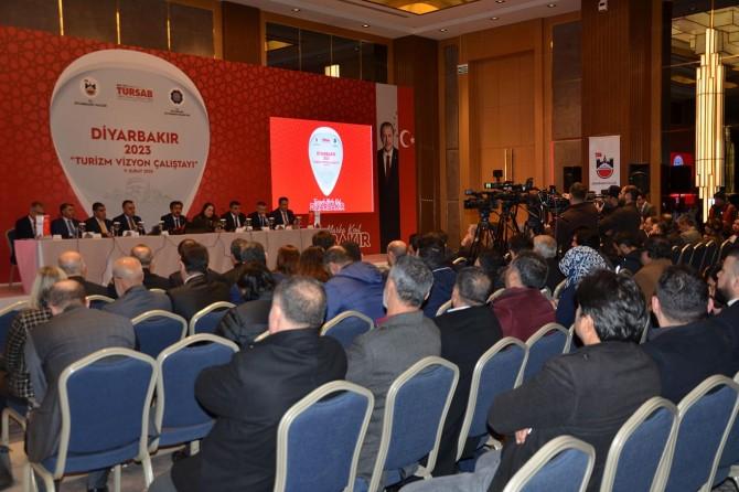 """Diyarbakır """"2023 Turizm Vizyon Çalıştayı"""" düzenlendi"""