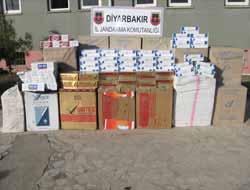 Diyarbakır'da 20 Bin 570 Paket Kaçak Sigara Ele Geçirildi