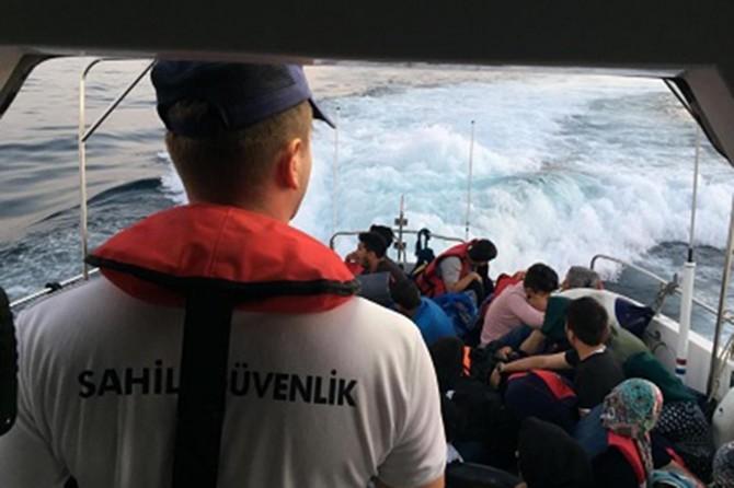 Çanakkale'de 51 düzensiz göçmen yakalandı