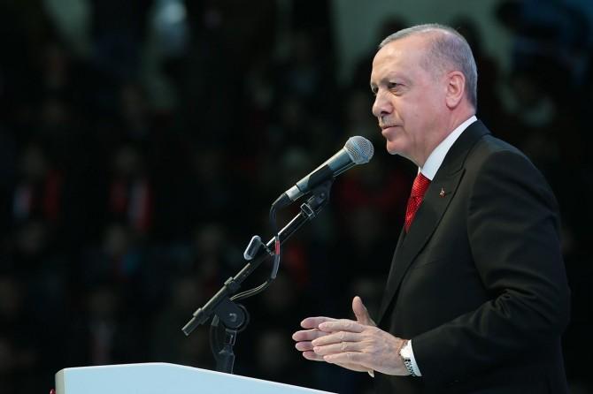 Cumhurbaşkanı Kahramanmaraş'ın Kurtuluşunun 100. Yıl Dönümü Kutlamaları'na katıldı