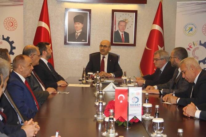 Sanayi ve Teknoloji Bakanlığınca Adana'da 2 projeye SOGEP desteği