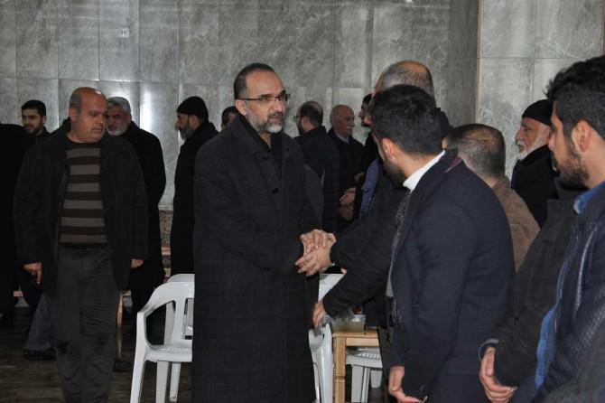 HÜDA PAR Genel Başkanı Sağlam Batman'da taziye ziyaretinde bulundu