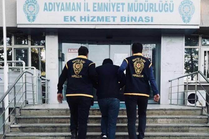 Adıyaman'da işyerlerinden hırsızlık yapan 8 şüpheli tutuklandı