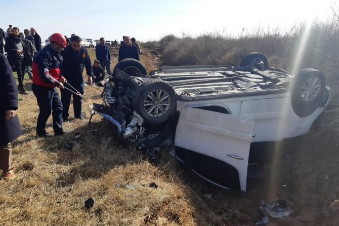Harran'da trafik kazası: 7 yaralı