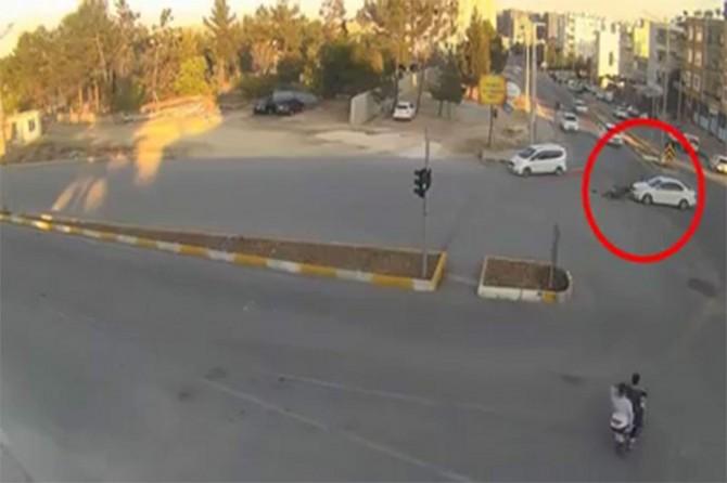 Adıyaman'daki trafik kazalarının MOBESE'ye yansımaları