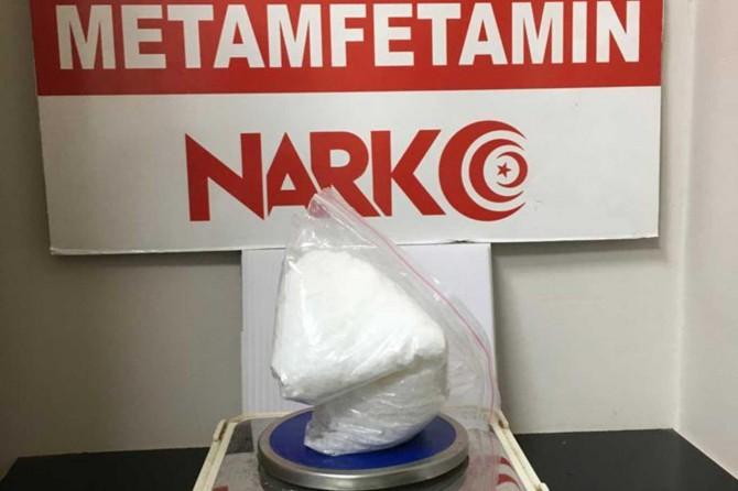 Bitlis'te durdurulan araçta uyuşturucu bulundu
