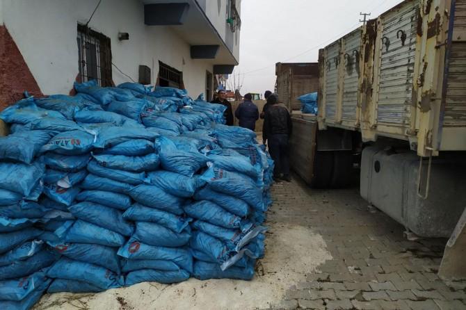 Gaziantep'te 22 ton kaçak kömür ele geçirildi