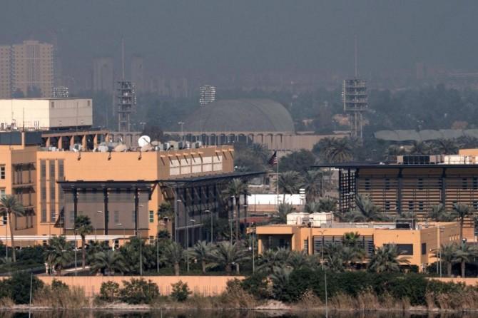 ABD'nin Bağdat Büyükelçiliği yakınına katyuşa füzesi düştü