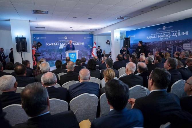 """Bakan Gül: """"Kapalı Maraş KKTC toprağıdır"""""""