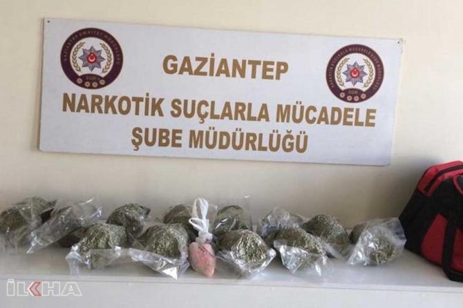 Yolcu çantasında 6 kilo sentetik uyuşturucu ele geçirildi