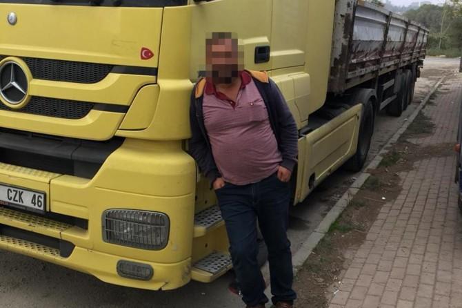 Konya'da bir TIR şoförü kendini asarak intihar etti iddiası
