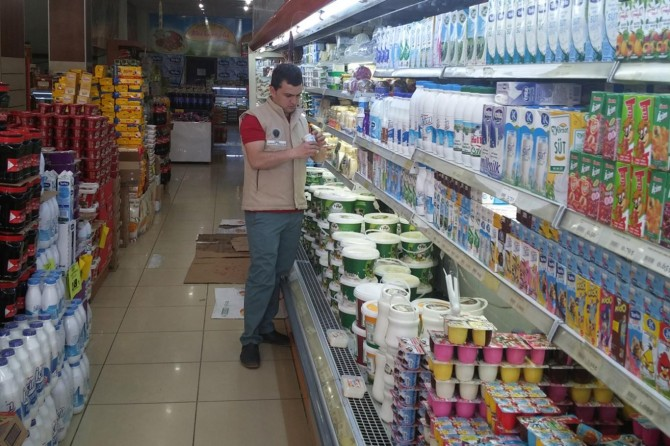 81 ilde 6 gün boyunca gerçekleştirilecek ürün bazlı gıda denetimleri başladı