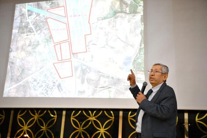 Yeni Şire ve Buğday Pazarları projeleri tanıtıldı