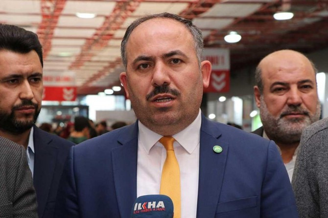 HÜDA PAR İstanbul İl Başkanı Elibüyük'ten Müfid Yüksel'in gözaltına alınmasına tepki