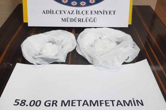 Bitlis'te Metamfetamin maddesi ele geçirildi
