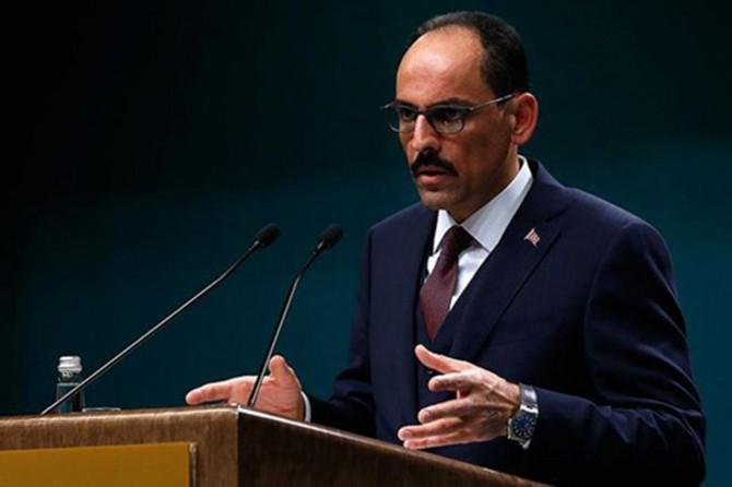 """Kalın: """"Gezi olaylarının Türkiye'ye zarar verdiğini asla akıldan çıkarmayalım"""""""