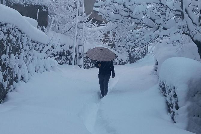 Meteorolojiden yoğun kar yağışı uyarısı