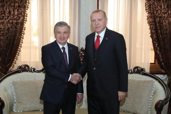 Özbekistan Cumhurbaşkanı Şevket Mirziyoyev Türkiye'ye geliyor