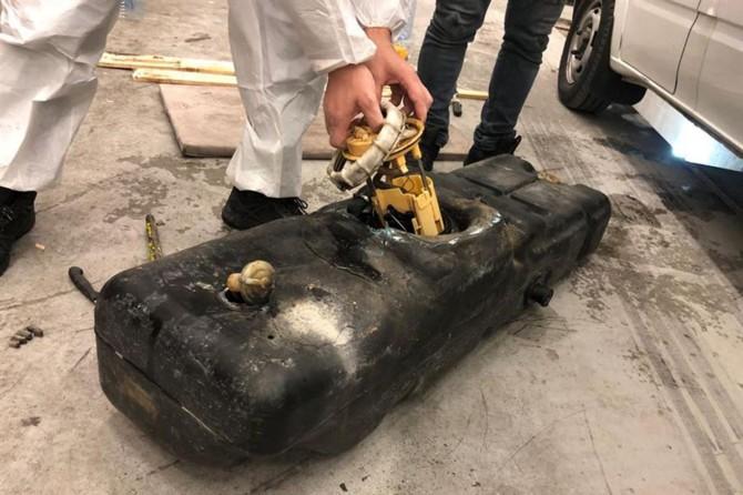 Sarp Gümrük Kapısında 115 kilogram kaçak bal ele geçirildi