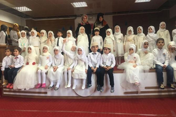 Çocuklara Kur'an'a geçiş programı gerçekleştirildi