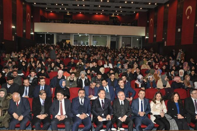 Mardin Artuklu Üniversitesinin bu haftaki konuğu Kamu Başdenetçisi Şeref Malkoç oldu