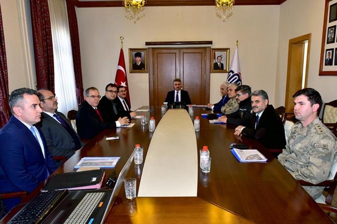 Malatya'da, Üniversite Güvenlik ve Koordinasyon Toplantısı gerçekleştirildi