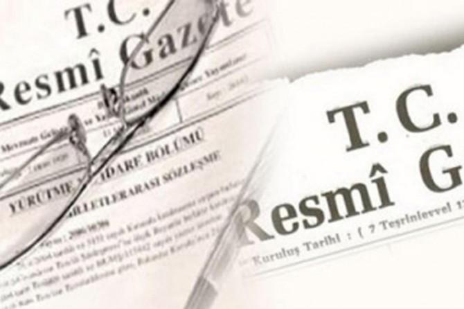 Bazı bakanlıklara ilişkin atama kararları Resmî Gazete'de yayımlandı