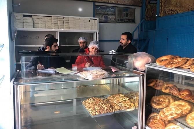 Van İpekyolu Belediyesi'nden gıda denetimi