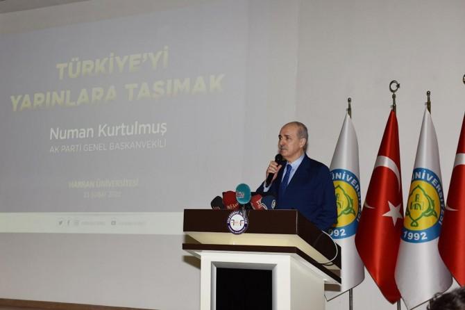 AK Parti Genel Başkanvekili Numan Kurtulmuş Şanlıurfa'da konferans verdi