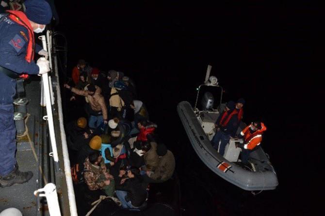 Sahil Güvenlik Komutanlığı: 624 düzensiz göçmen yakalandı