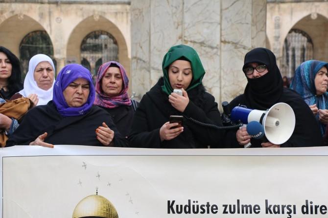 Kudüs Anneleri Platformu: Müslümanların kalbi Kudüs'te ve Mescid-i Aksa'da atmaktadır