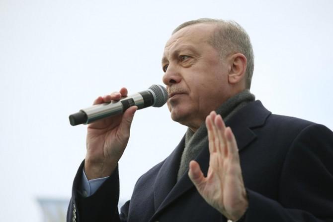"""Cumhurbaşkanı Erdoğan: """"Türkiye'nin gücü bağımsız siyaset izlemeye yeterlidir"""""""