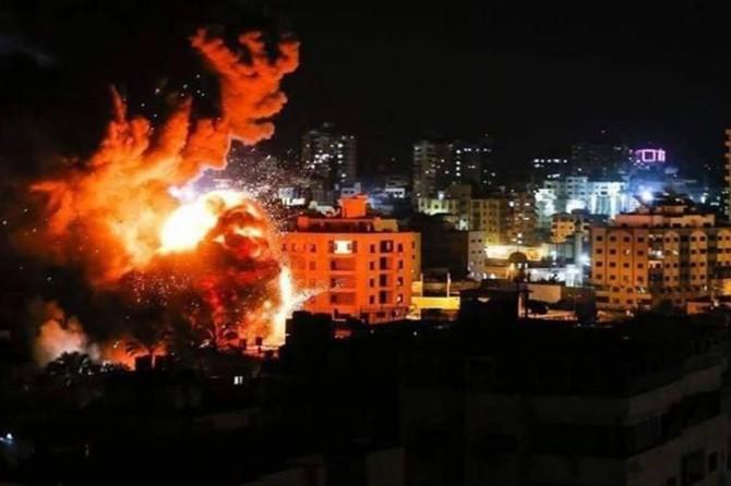 Çeteya terorê ya siyonîstan êrîşî Xazzê kir
